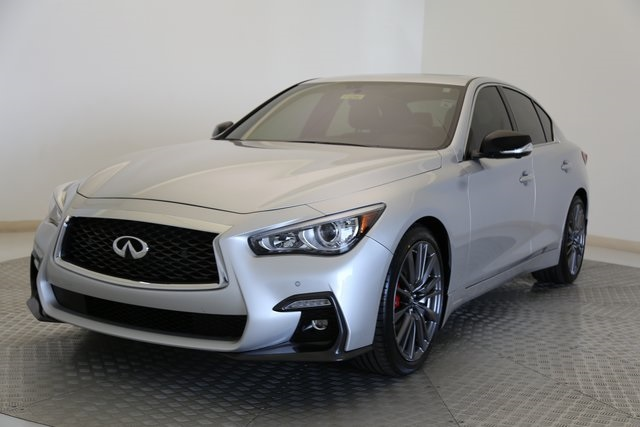 Certified Pre Owned 2018 Infiniti Q50 Red Sport 400