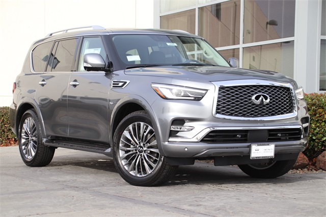 New 2020 INFINITI QX80 LUXE 4WD SUV in Roseville #2490 ...
