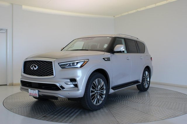 New 2019 Infiniti Qx80 Luxe 4wd Suv In Roseville 48324 Infiniti