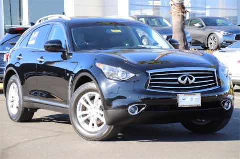 Certified Pre-Owned 2015 INFINITI QX70 AWD